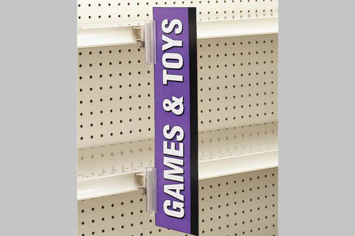 Aisle Invader Aisle Violators Blade Sign Holders