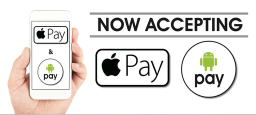 Apple Pay-Google Pay Shelf Sign-Price Cards- 10 signs