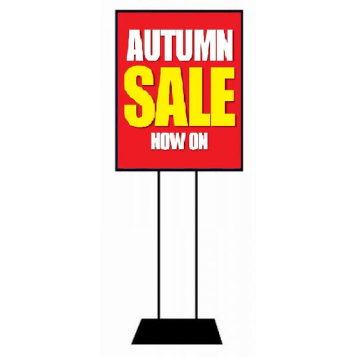Autumn Sale Floor Stand Stanchion Sign-Poster