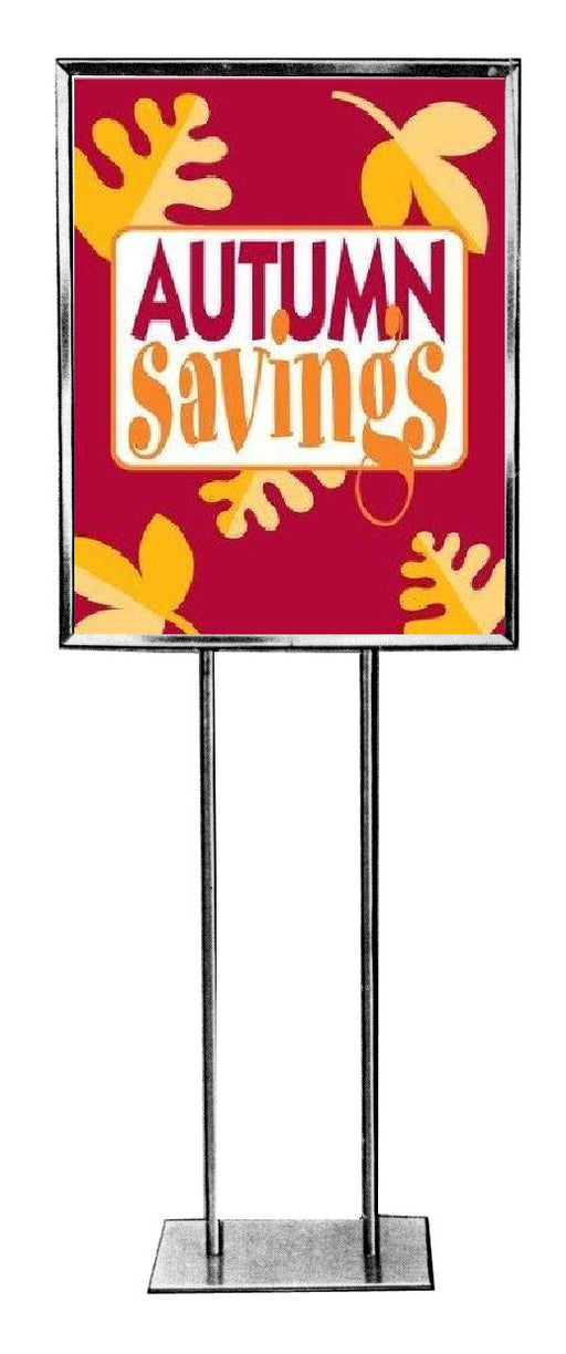 Autumn Savings Standard Poster Floor Stand Signs-4 pieces