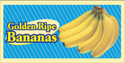 Bananas Hanging Sign Ceiling Dangler