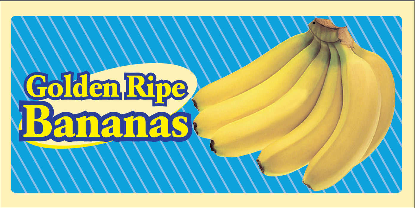 Bananas Wall Sign