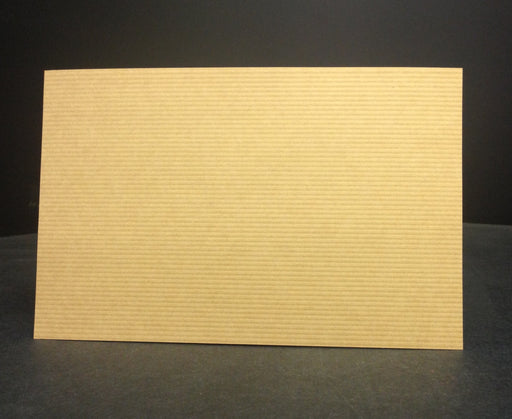 Brown Kraft Paper Price Cards Shelf Signs-100 pieces