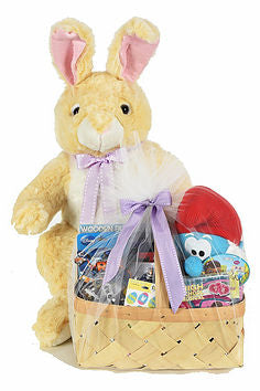 Easter Bunny with Toy Filled Basket-Giant Sweepstakes Promotional Item