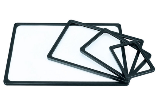 Sign Frames-Black Plastic 10 pieces