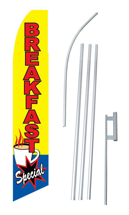 Breakfast Specials Feather Flags Kit