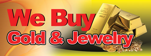 We Buy Gold & Jewelry Banner