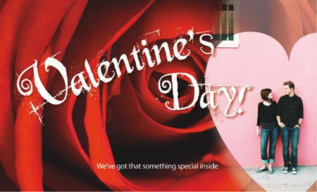 Ceiling Dangler Mobile Sign-Valentine's Day