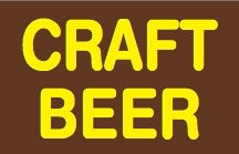 Craft Beer Price Channel Shelf Molding Tags-50 pieces