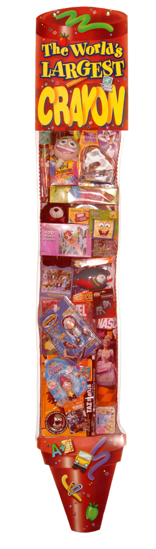 Back to School Toy Filled Crayon Sweepstakes-Contest Giveaway Promotional Item