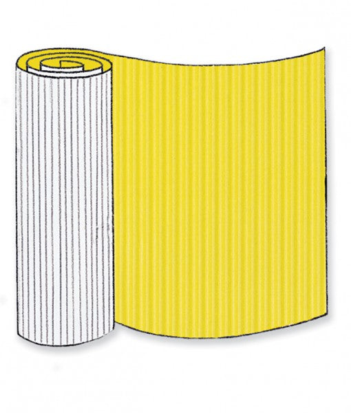 Yellow Corrugated Base Pallet Wrap