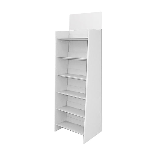 Large Cardboard 6 Shelf Display Bin