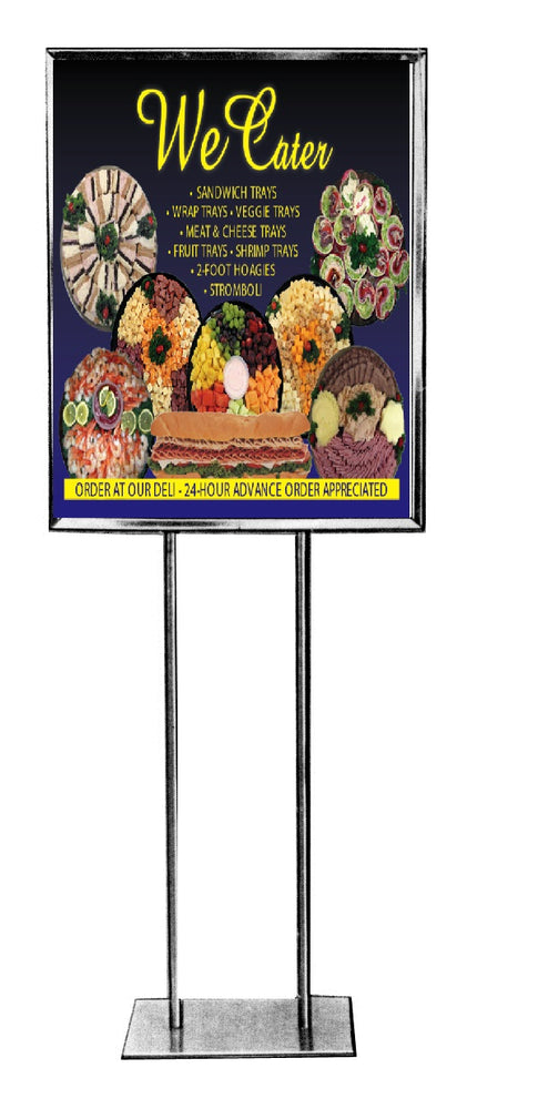 Catering Stanchion Floor Stand Signs