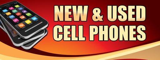 Cell Phone New & Used Banner