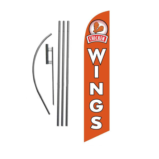 Chicken Wings Feather Flag Kit