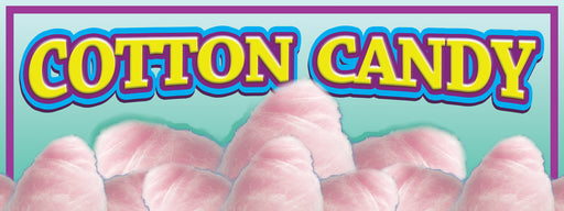 Cotton Candy Banner Pink