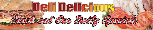 Deli Daily Specials Ceiling Dangler-Hanging Sign