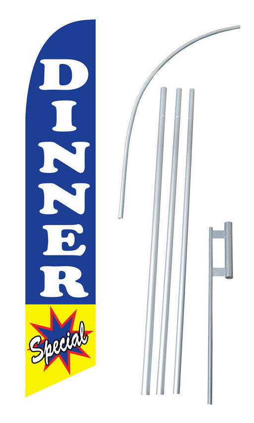 Dinner Specials Feather Flag Kit