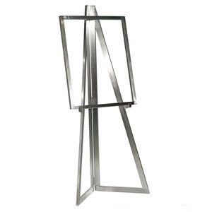 Floor Stand Stanchion Sign Holder -Easel