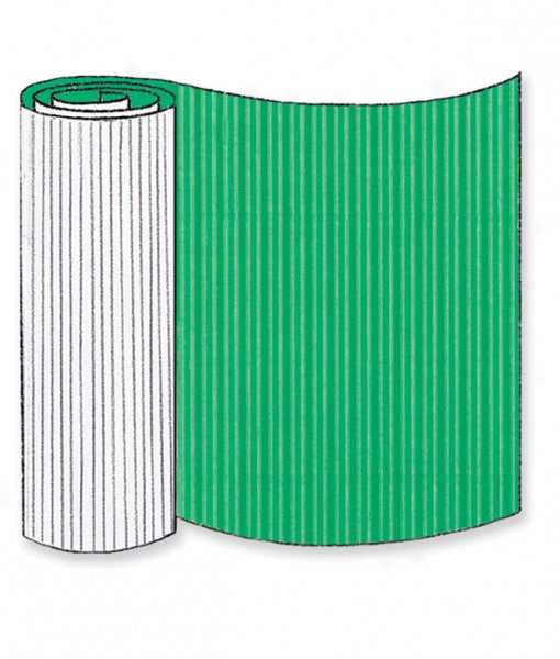 Emerald Green Corrugated Base Pallet Wrap