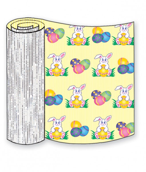 Easter Bunny Corrugated Base Pallet Wrap-4 Rolls