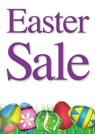 Easter Sale Window Poster