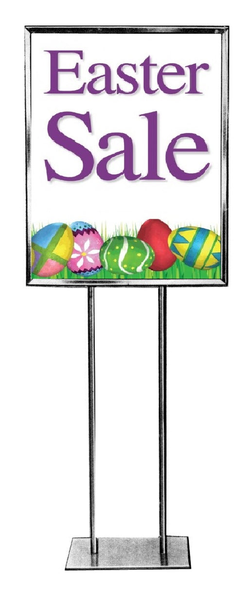 Easter Sale Floor Stand-Stanchion Sign