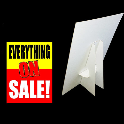 Everything on Sale Easel Sign