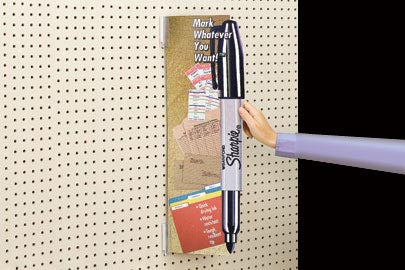 PegBoard Sign Holder- Super Grip-Invaders