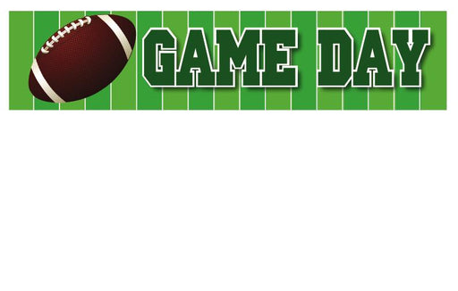 Football Game Day Shelf Signs-Price Cards