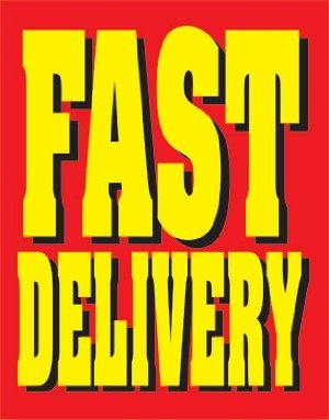 Fast Delivery Standard Sale Event Poster-4 pieces