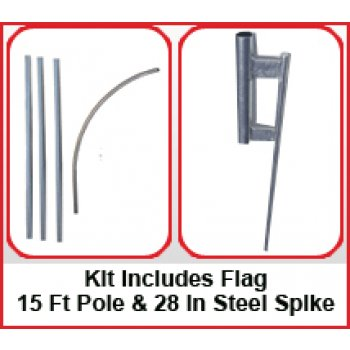 Jet Skis Feather Flags Kit