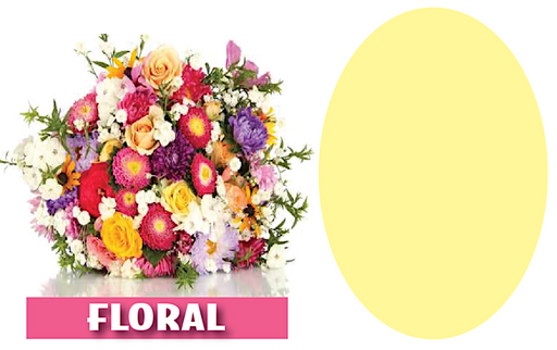 "Floral Shelf Signs Price Cards-Laser Compatible-11""W x 7""H-100 pieces"