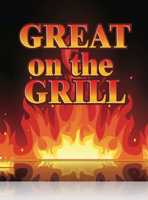 Great on the Grill Floor Stand Sign