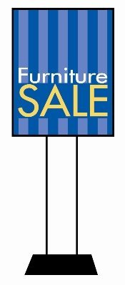 Furniture Sale Retail Sales Event Poster