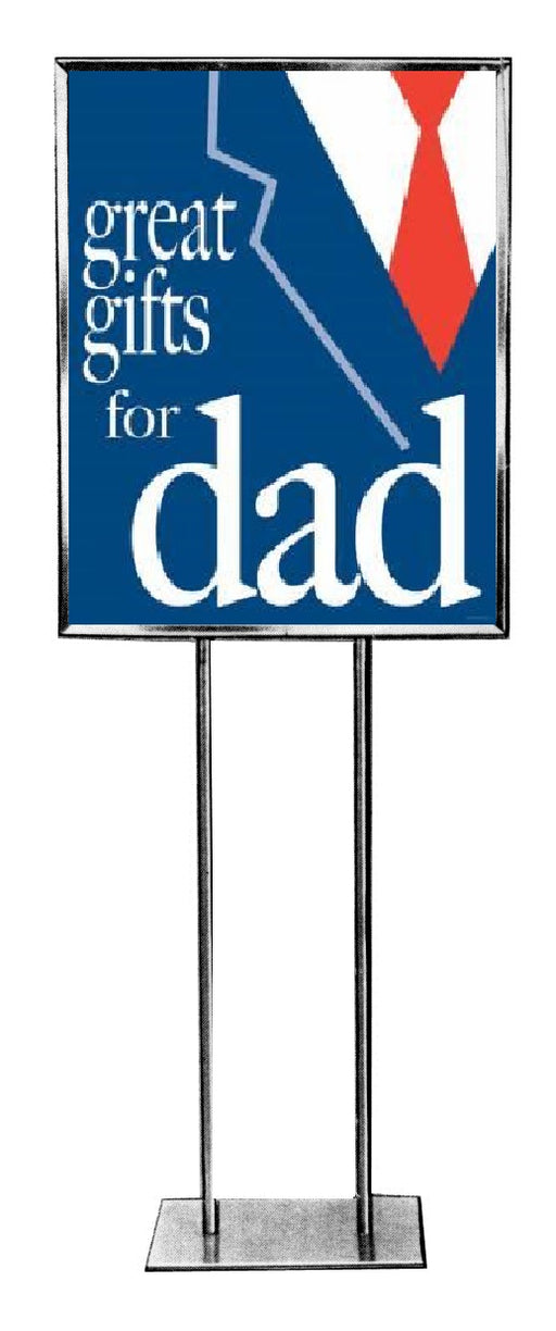 "Father's Day Standard Poster-Floor Stand Signs- 22"" W x 28"" H -2 pieces"