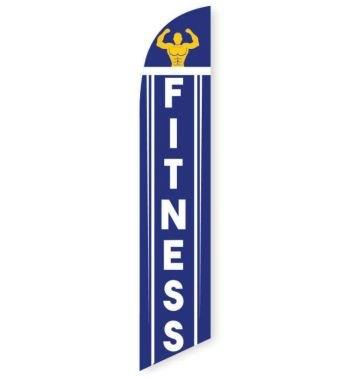 Fitness Feather Flag