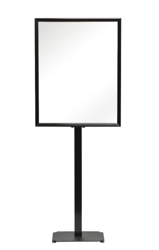 Floor Stand Poster Sign Holder-Black