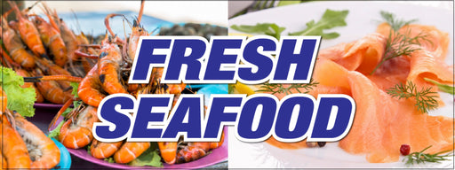 Fresh Seafood Department Wall Graphics