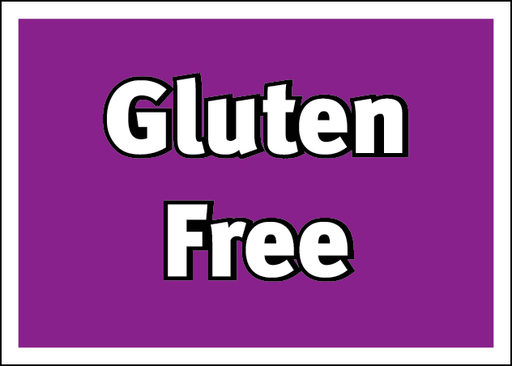 Gluten Free Information Price Channel Shelf Molding Tags-100 pieces