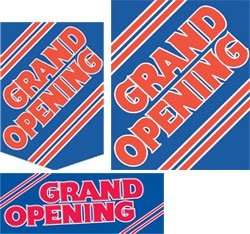 Grand Opening Sale Event Sign Kit- 32 pieces