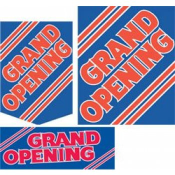 Grand Opening Event Sale Sign Kit- 20 pieces