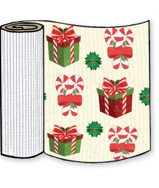 Gift Box Corrugated Base Pallet Wrap