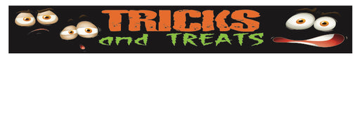 "Halloween Shelf Signs-Price Cards-11"" W x 3.5"" H -50 signs"