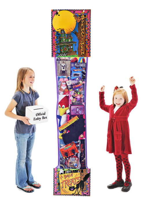 Halloween Toy Filled Stocking Sweepstakes-Contest Giveaway- Promotional Item - screengemsinc