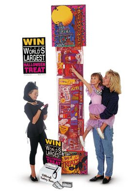 Giant Halloween Toy Filled Stocking Sweepstakes-Contest Giveaway- Promotional Item-8'
