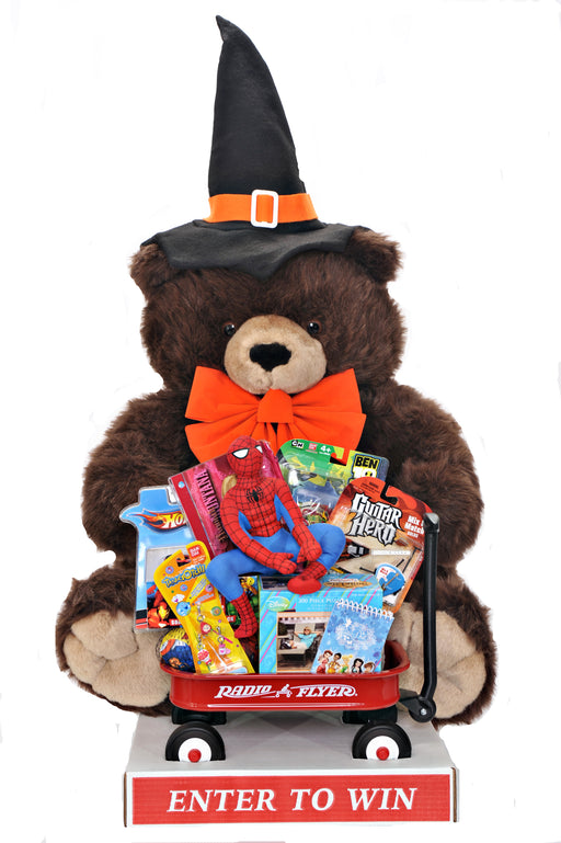 Halloween Bear-Toy Filled Wagon Giant Promotional Sweepstakes Item