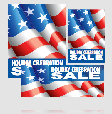 Holiday Celebration Sale Sign Kit- 32 pieces