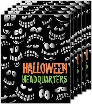 Halloween Headquarters Standard Retail Store Posters-6 pieces