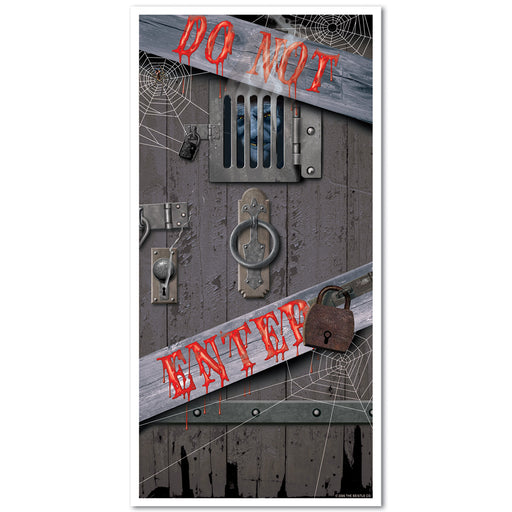 Halloween Decorations-Spooky Halloween Door Covers 12 pieces